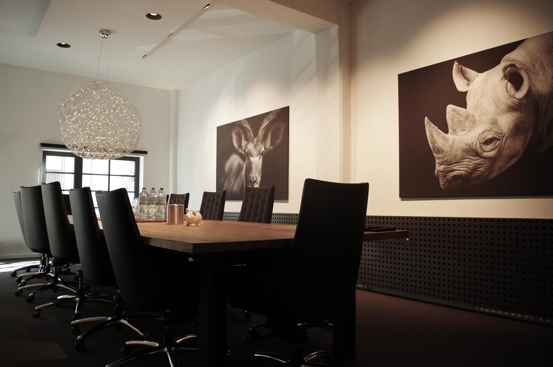 Moderne Konferenzräume